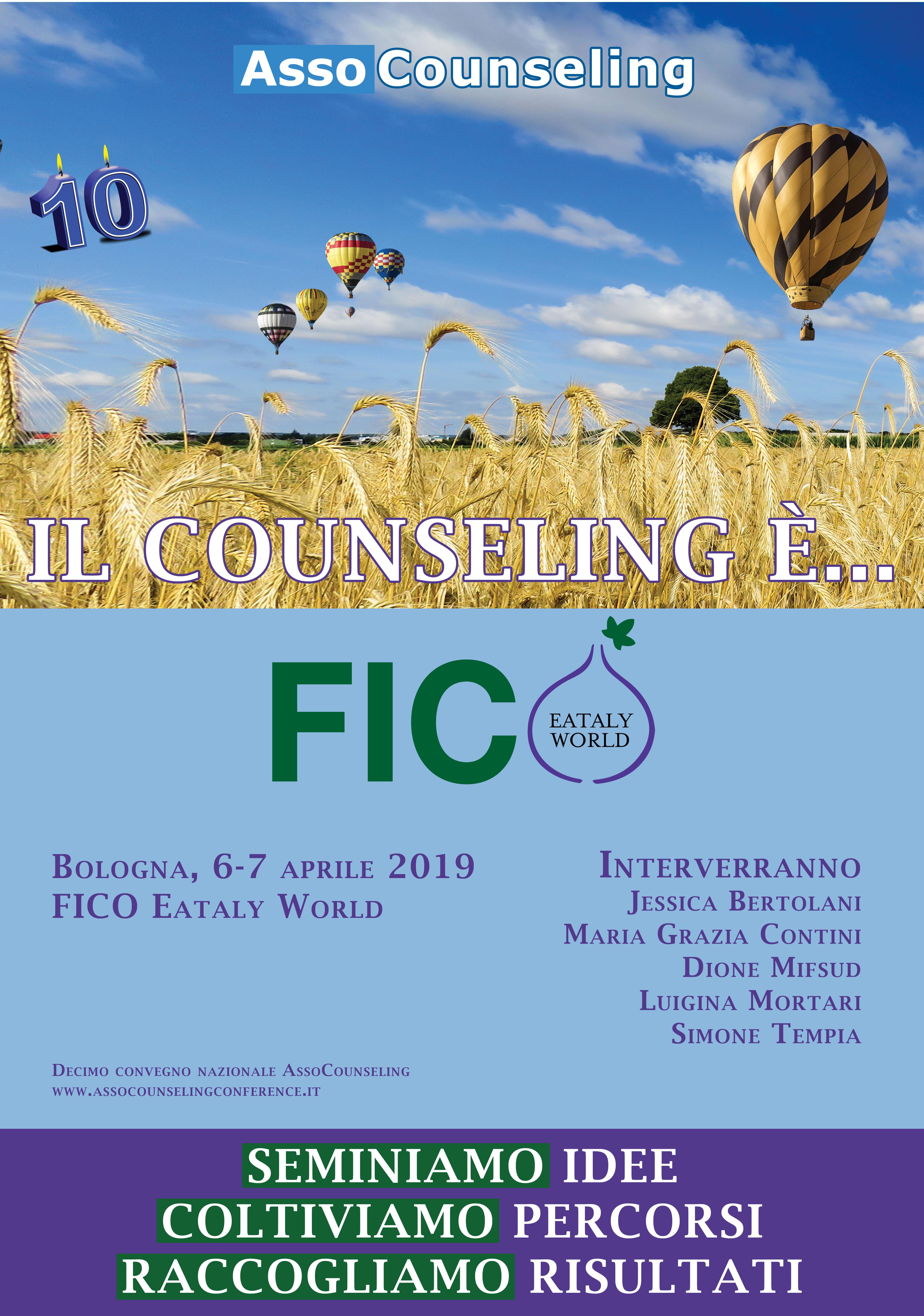 Il counseling è... FICO. Decimo convegno nazionale AssoCounseling